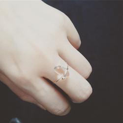 #bague #ring #rosegold #plated #jewelry #bijoux #paris #handmade #cristal