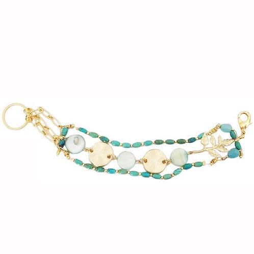 Bracelet°Turquoise tropical