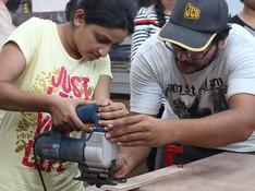 #makersgonnamake #makerscommunity #coworking #makersmantra  #alagangle  #woodworking #workshop