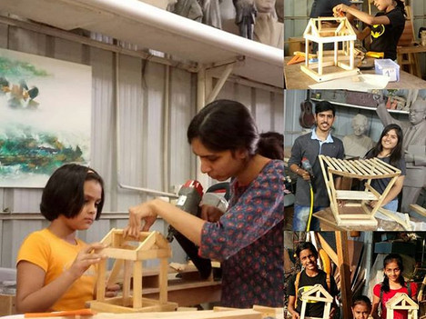Sunday workshop brings happiness, new learning and satisfaction at our make space.jpg