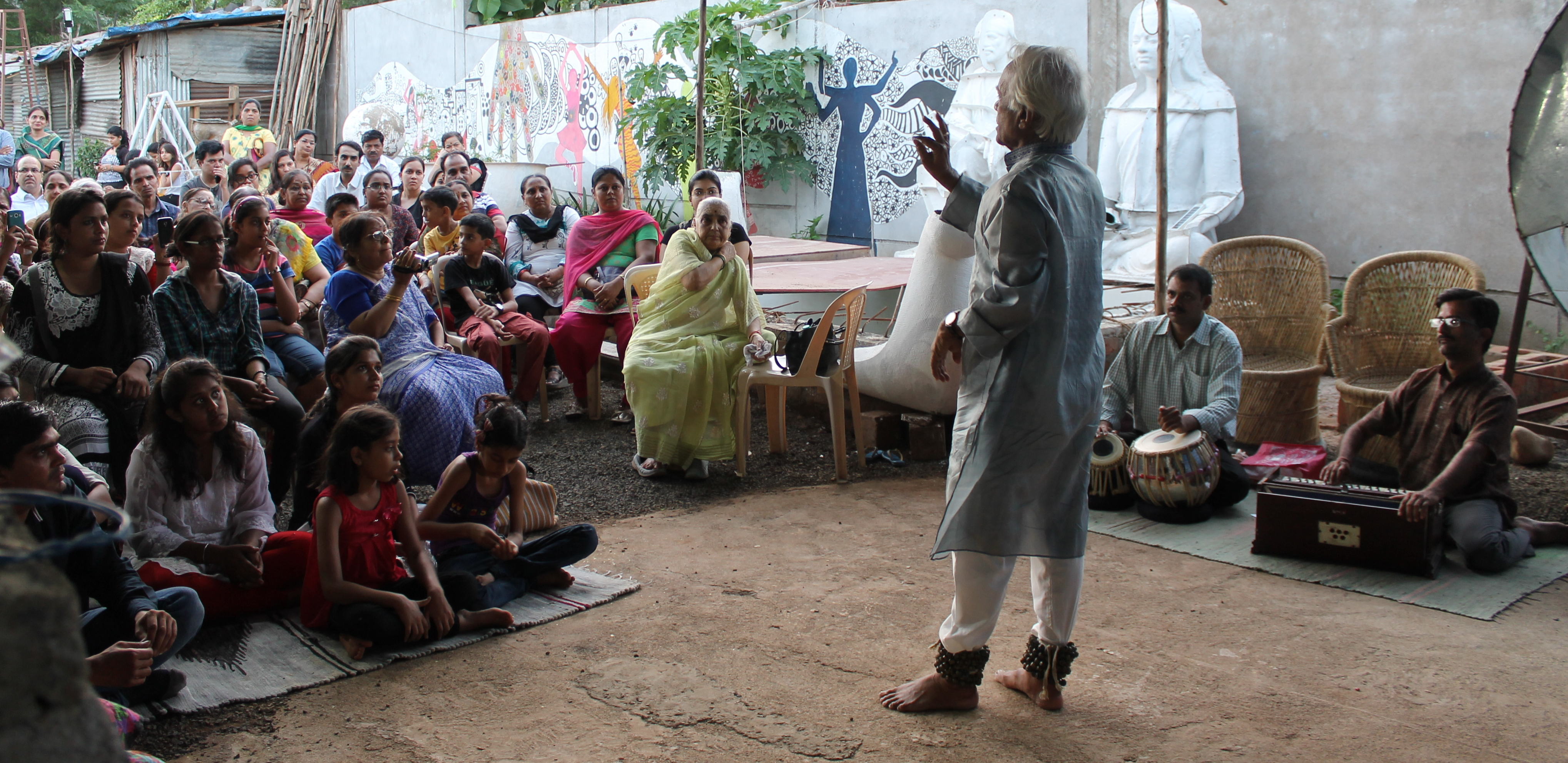 Lecture by EminentArtist Madan Pande