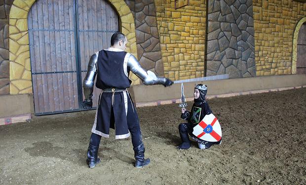 посвящение в Рыцари в Конном театре парка Ривьера