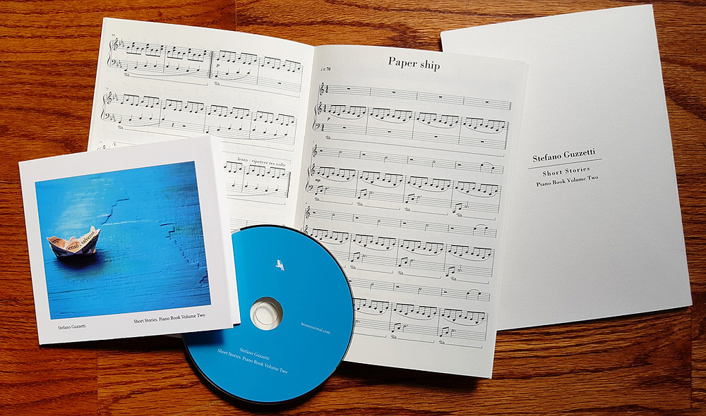 Special edition of Home Stories. Piano Book Volume Two