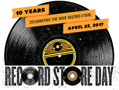 Saturday (April 22) is Record Store Day 2017 - Don't Miss It!