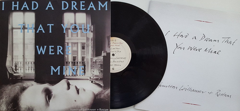 Vinyl album with handwritten lyric booklet