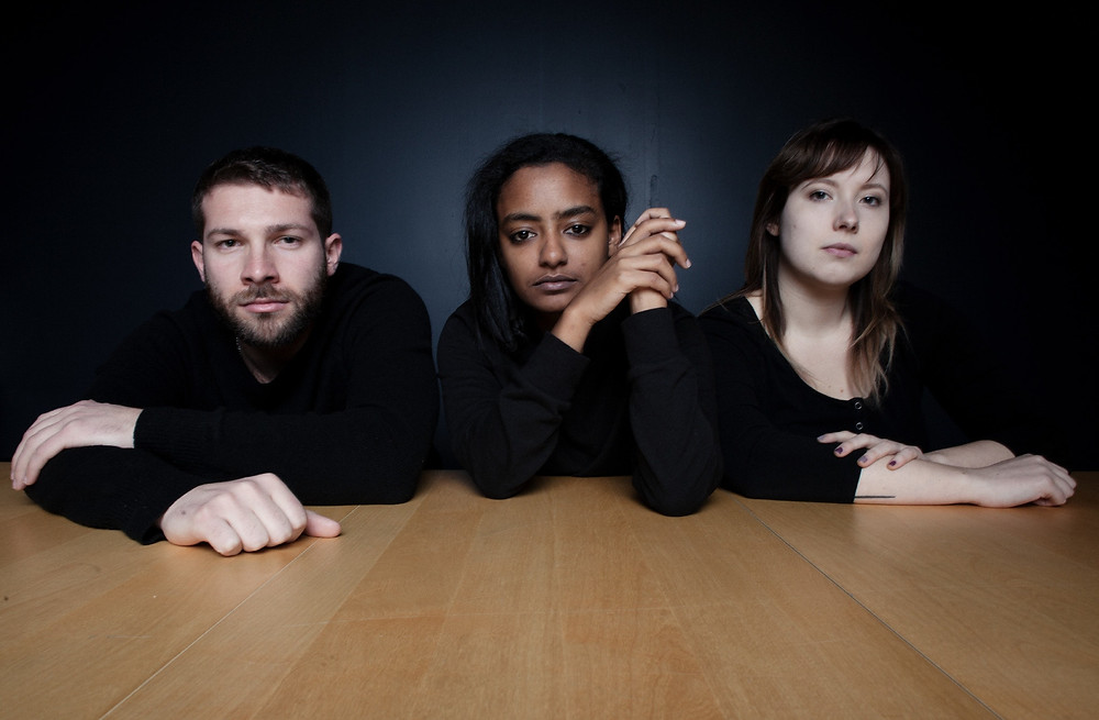 Press photo of NYC band Queue