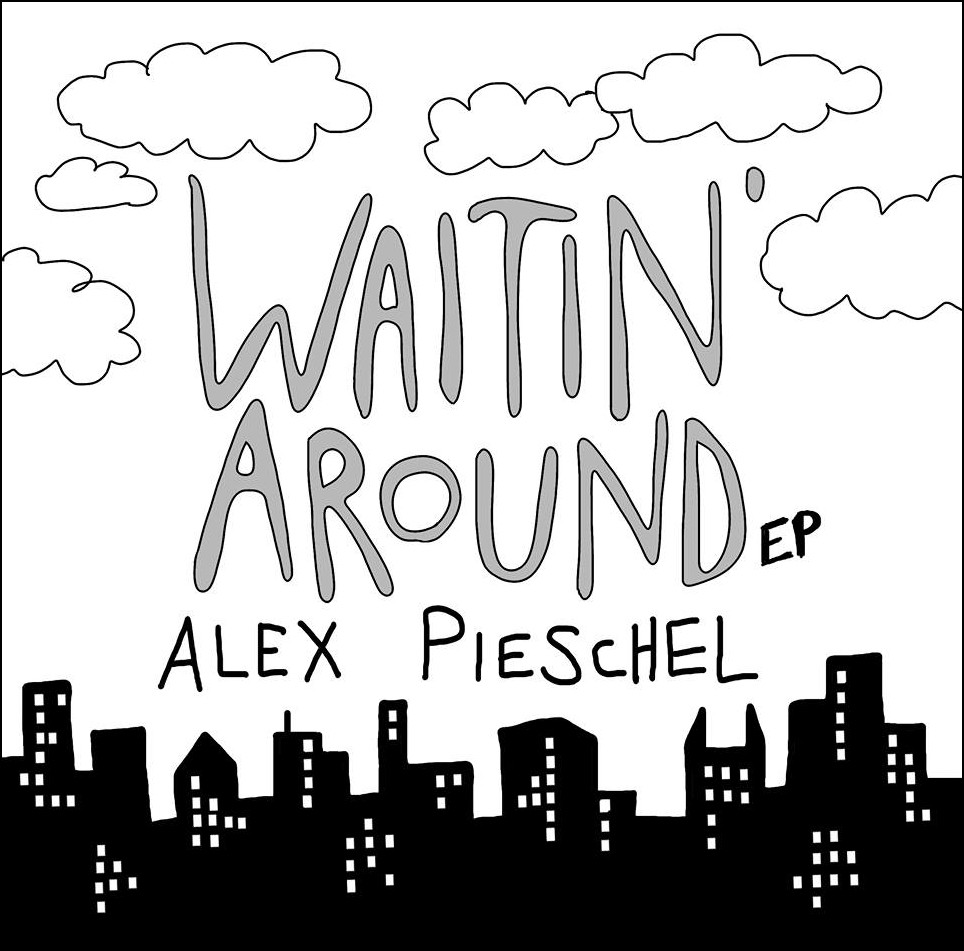 "Cover artwork for the ""Waitin' Around"" EP"