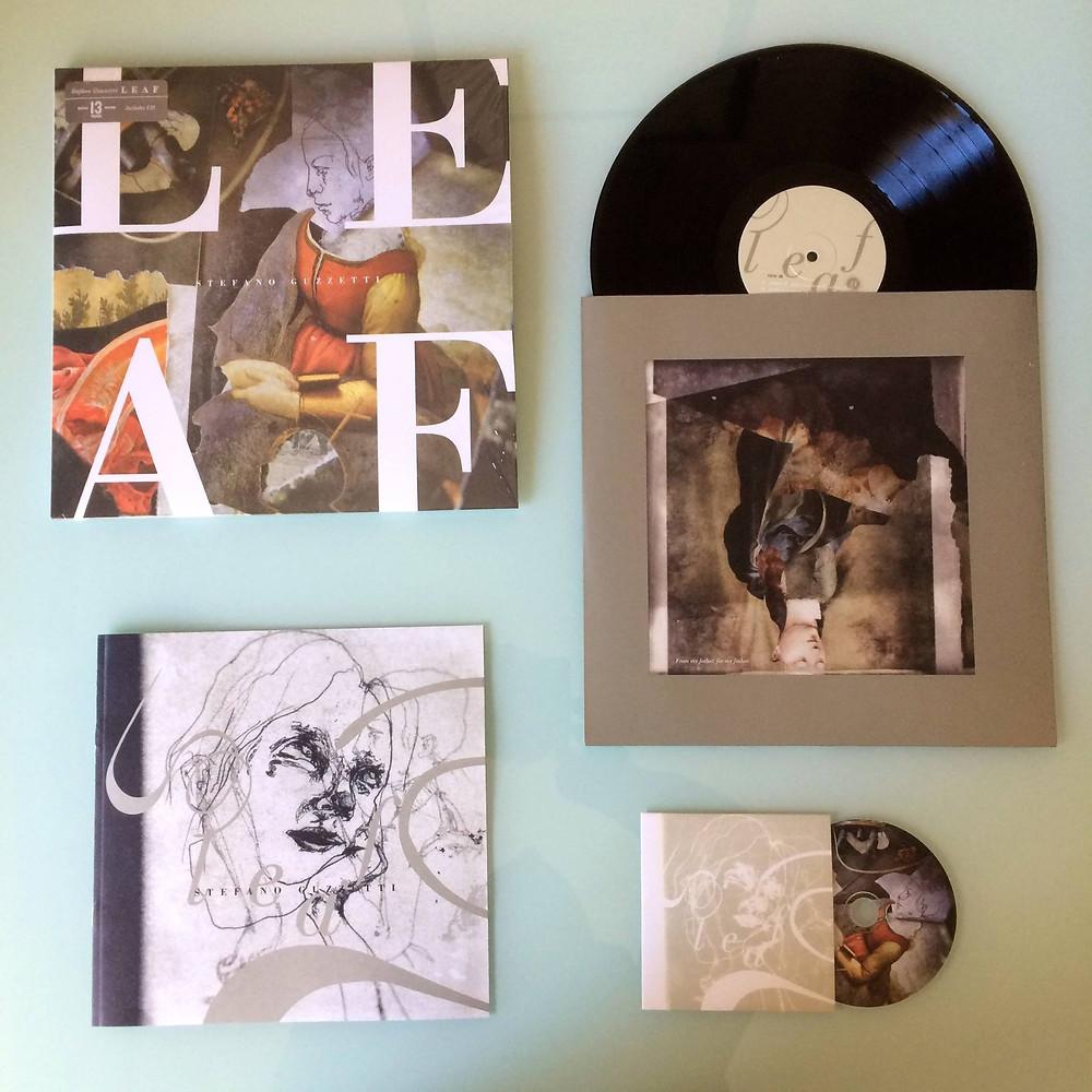 "Stefano Guzzetti ""Leaf"" deluxe vinyl edition"