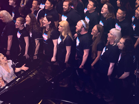 Maggie Szabo and The Trans Chorus of LA | Don't Give Up (LIVE)