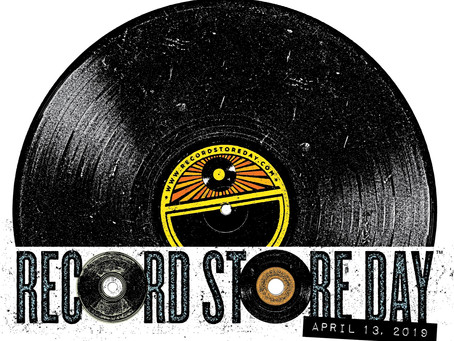 Saturday (April 13) is Record Store Day 2019 - Mark Your Calendars!