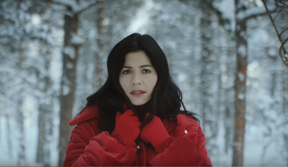 Video still of MARINA from Handmade Heaven