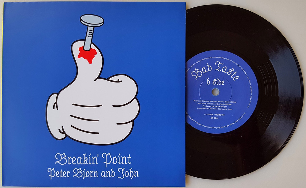 Photo of Breakin' Point vinyl single