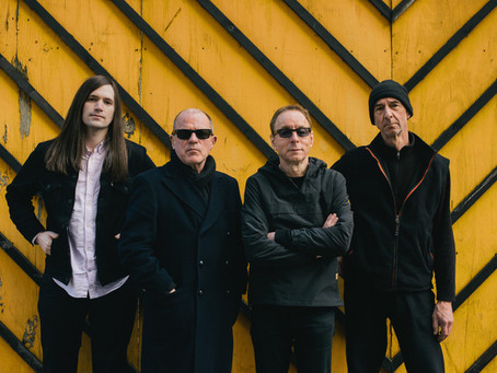 The legendary band Wire release their 15th studio album 'Silver/Lead'