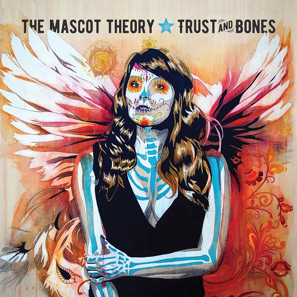 """album cover artwork for """"trust and bones"""""""