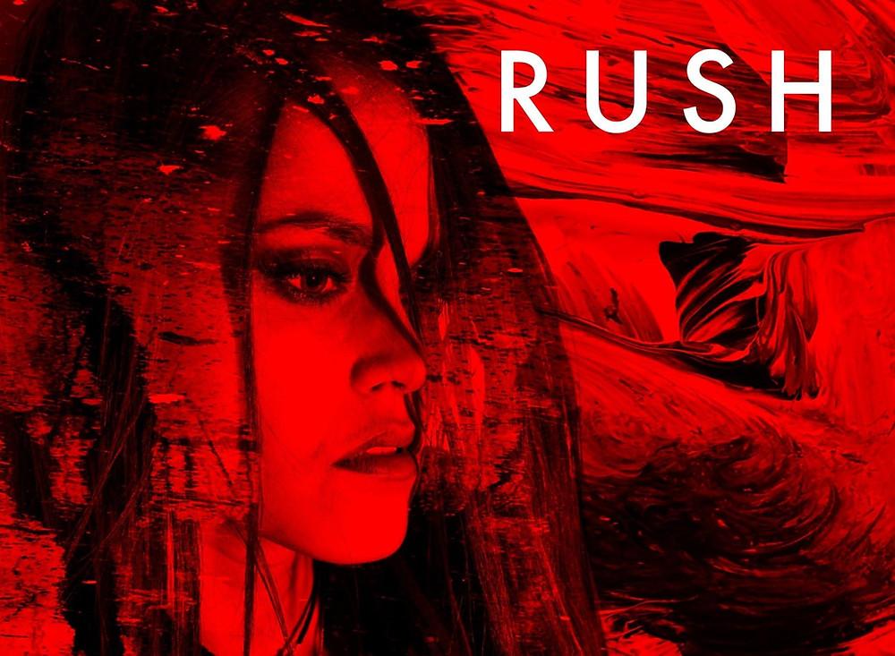 """artwork for Amanda Mair """"Rush"""" single"""
