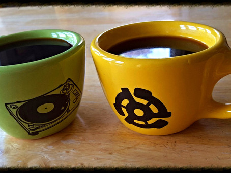 Ceramic Coffee Mugs for Vinyl Lovers