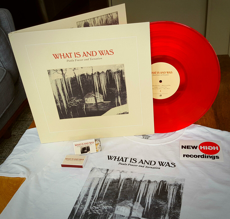Red vinyl pressing of What Is and Was