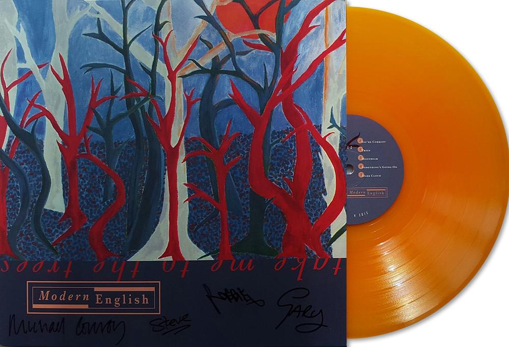 """Modern English """"Take Me to the Trees"""" vinyl record"""