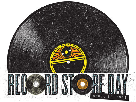 Saturday (April 21) is Record Store Day 2018 - Mark Your Calendars!