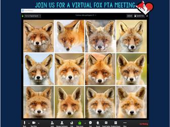FOX PTA NEWSFLASH SPECIAL EDITION: PTA MEETING 4/16/20, 3:00pm