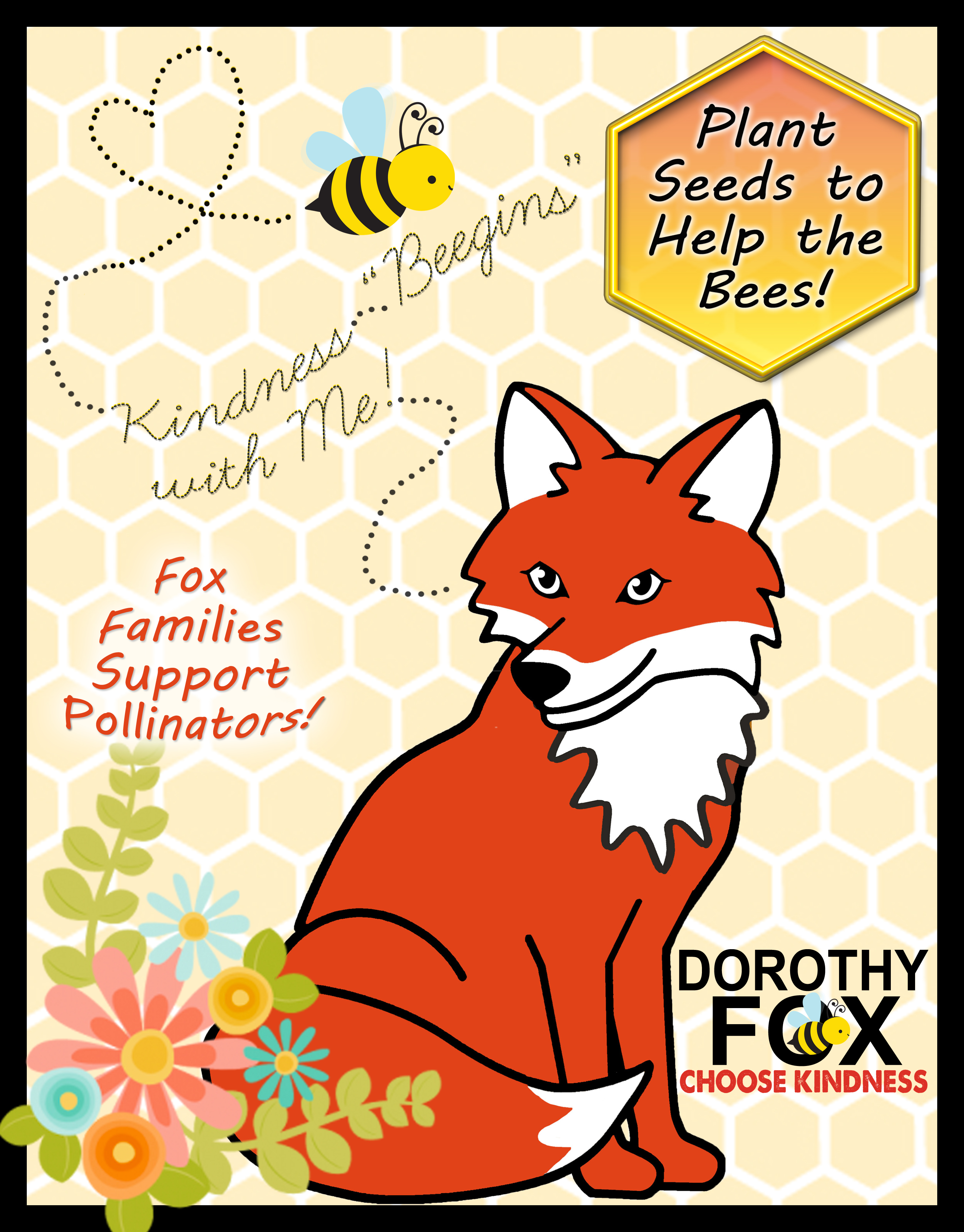 Kindness Beegins with Me_3Pollinators