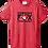 Thumbnail: HEATHERED RED HEART FOX KINDNESS LOGO TEE