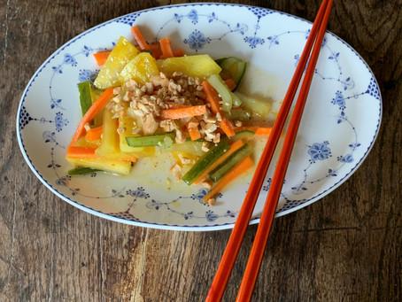 Our Asian menu