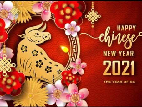 Ox-picious New Year 2021 !