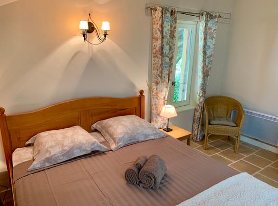 Double room at gite de L'Annicha (2)