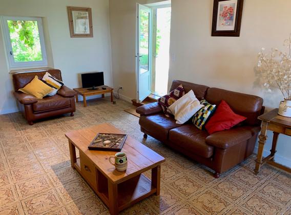 Living room gite de L'Annicha
