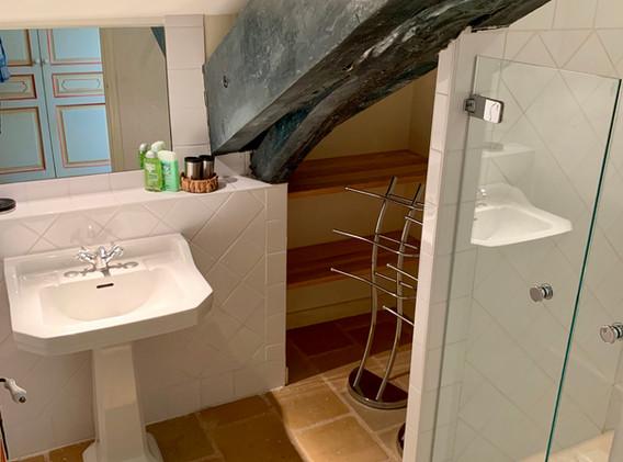 Shower room gite