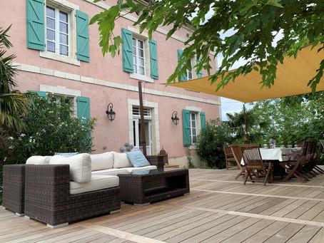 The terrace of L'Annicha