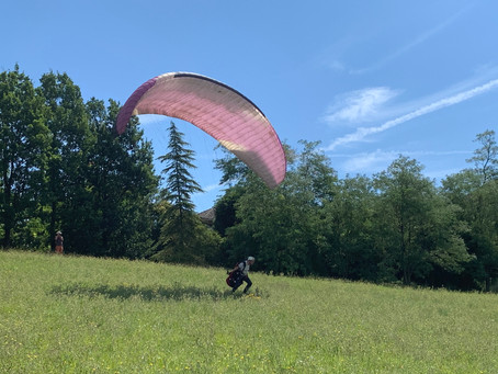 Surprising paragliding opportunities