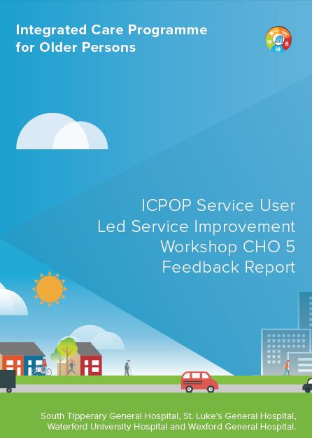 Feedback Report for our recent Service User led Service Improvement Workshop held in Waterford now available on our Publications Page