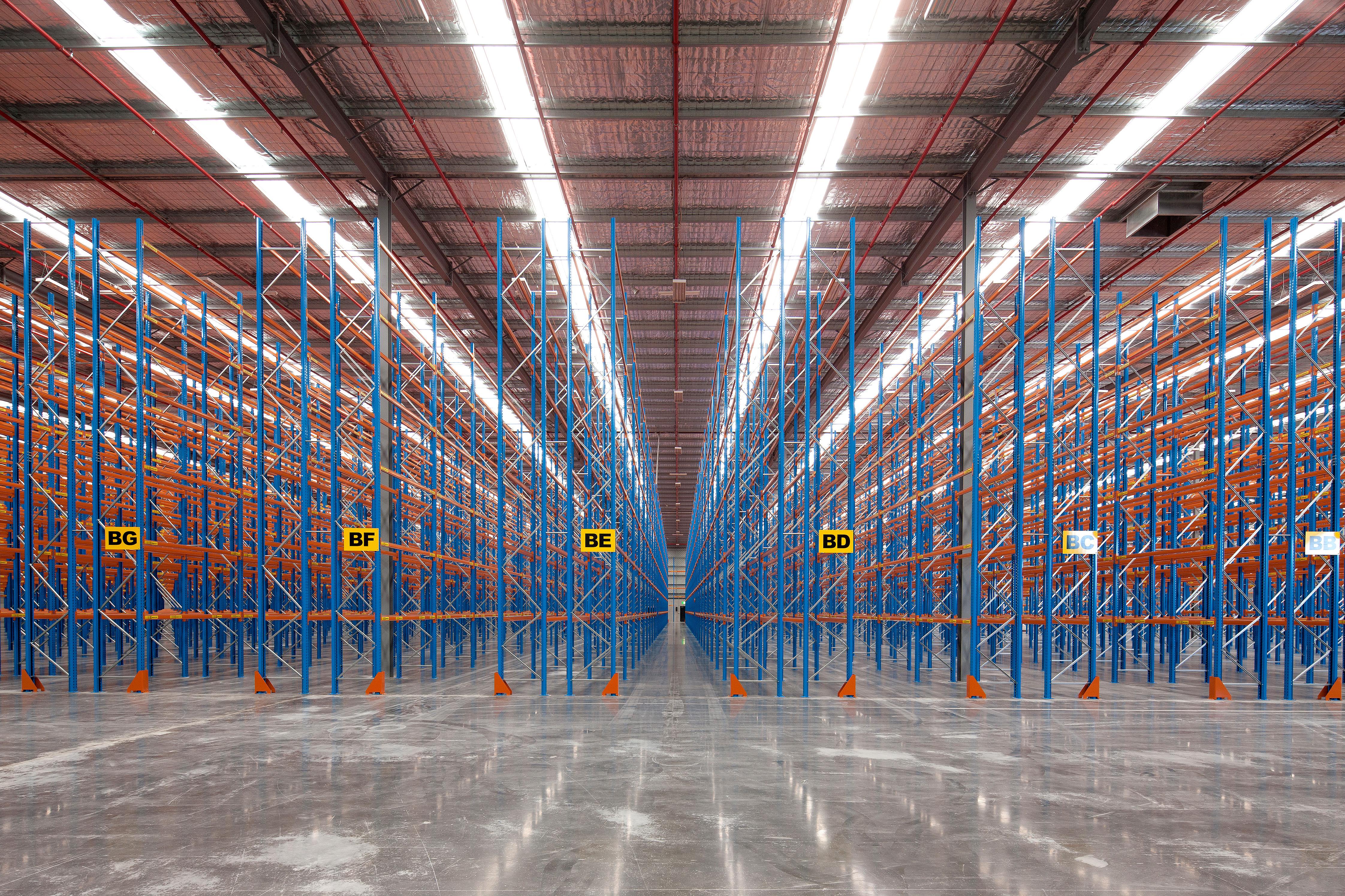 Warehouse + Racking