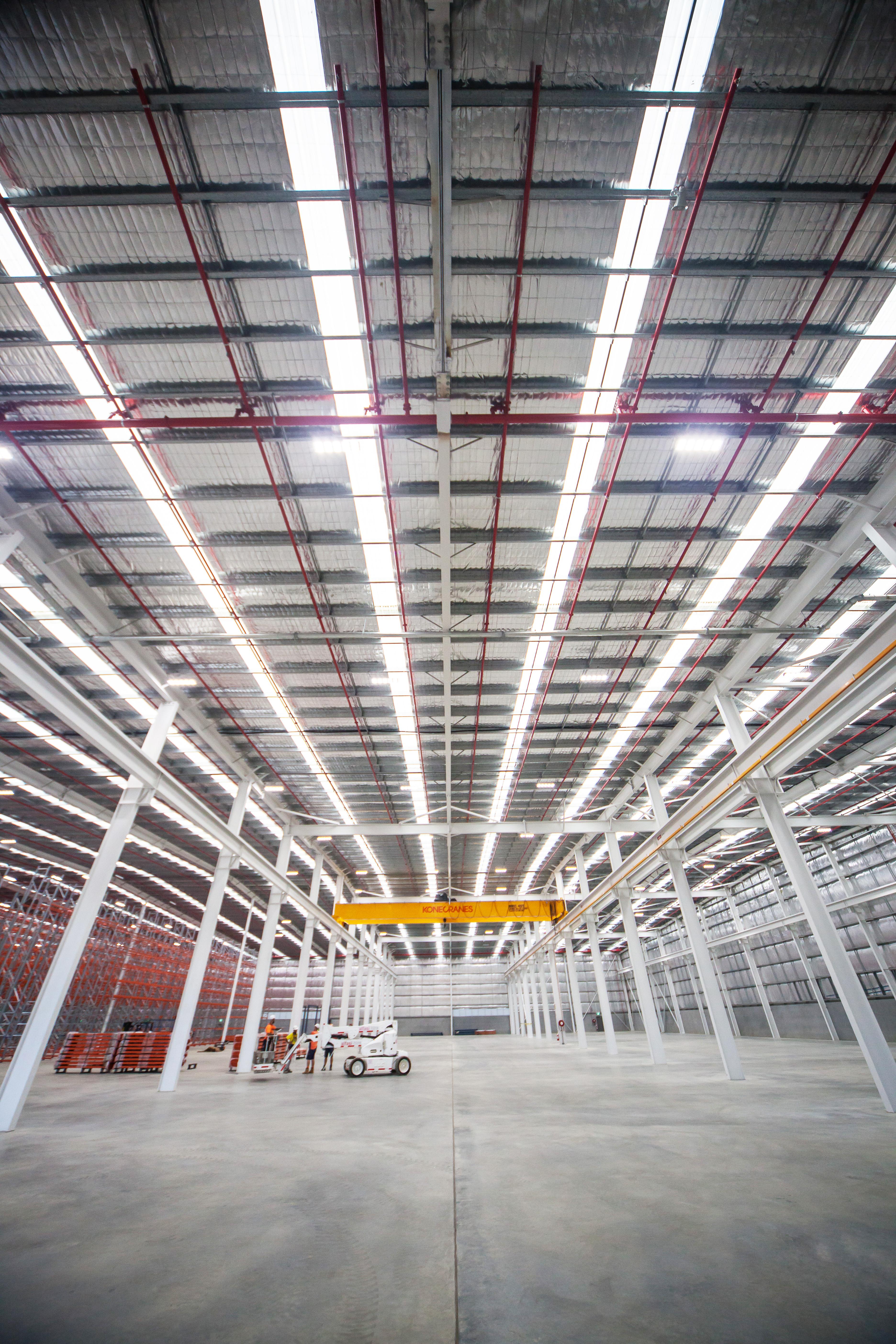 Joy Global- Warehouse ceiling
