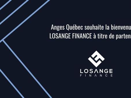 Partenariat avec Anges Québec