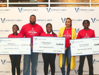 "Vernon Carey Foundation ""One Step to a Brighter Future"" Scholarship program"