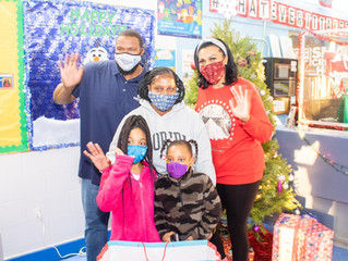 CAREY FAMILY FOUNDATION PROVIDES HOLIDAY GIFTS TO LOCAL FAMILIES