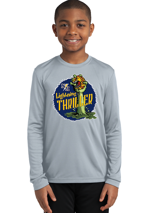 Thriller Youth/Adult Performance Long Sleeve T-Shirt