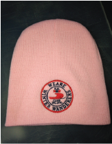 CLOSE OUT SPECIAL - Pink knit cap