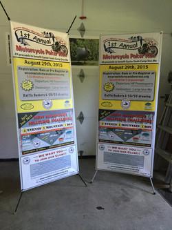 Weare Wanderers Banners
