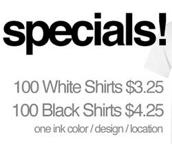 We Have Specials!