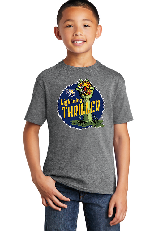 Thriller Youth/Adult Cotton Short Sleeve T-Shirt