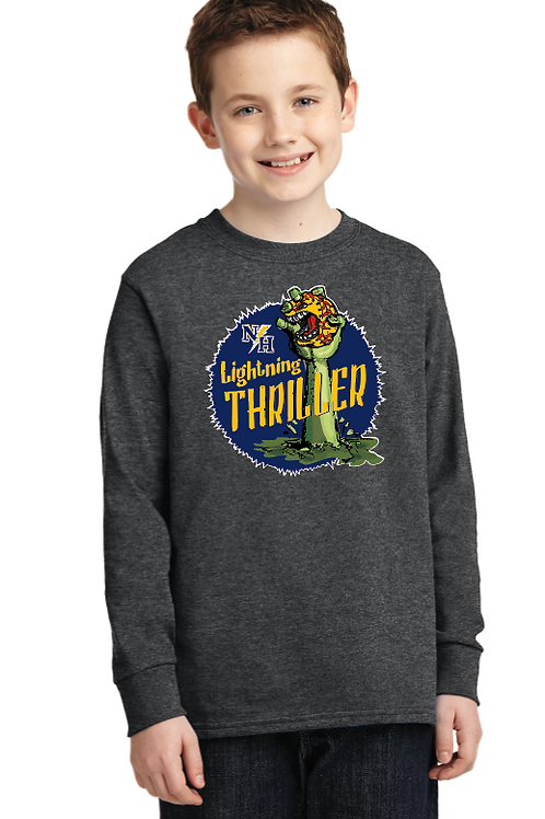 Thriller Youth/Adult Cotton Long Sleeve T-Shirt
