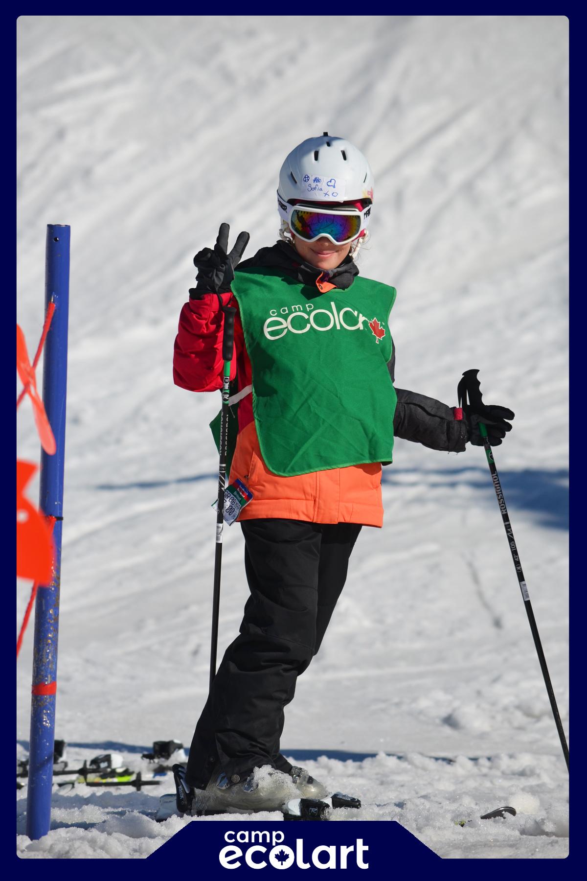 camp ecolart ski camp