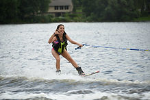 Camp Ecolart Waterskiing