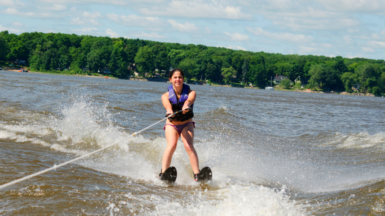 camp ecolart water ski