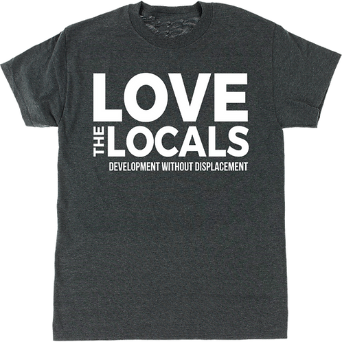 """""""Development without Displacement"""" T-Shirt Design"""
