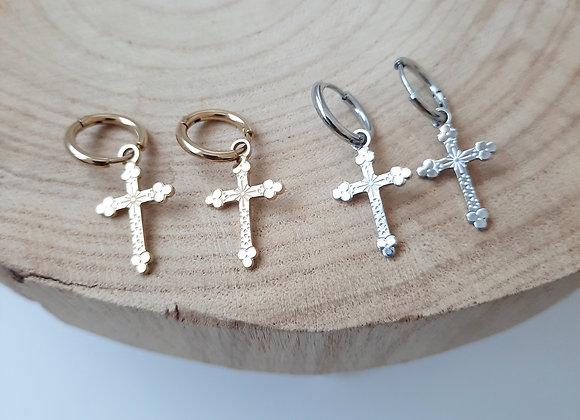 Boucles croix